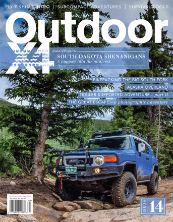 Issue 14 - Outdoor Magazine, Backpacking Magazine