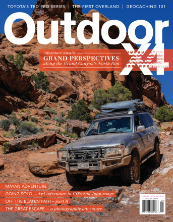 Issue 4 - Overlanding, Outside Adventure Magazine