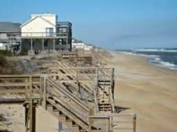 High water  can reach the dunes. (Coastal Planning & Engineering)