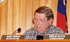 Mayor Pro Tem Gary Perry. (Russ Lay)