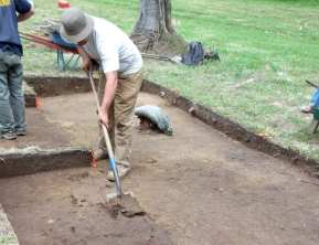 Digging at Site X