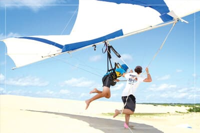 Outer Banks Wedding Guide - Hang Gliding Lessions