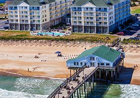 Hilton Garden Inn OBX wedding venue