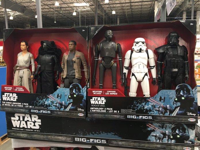 Rogue One Big-Fig Packs