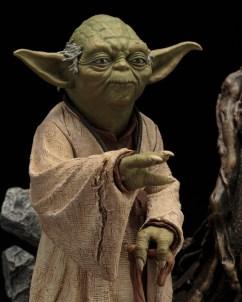 Repainted Yoda ARTFX Statue