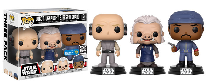 Wal-Mart Exclusive Funko 3-Packs