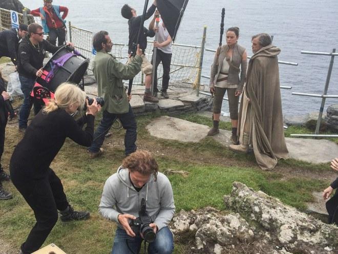 Last Jedi Photo Shoot