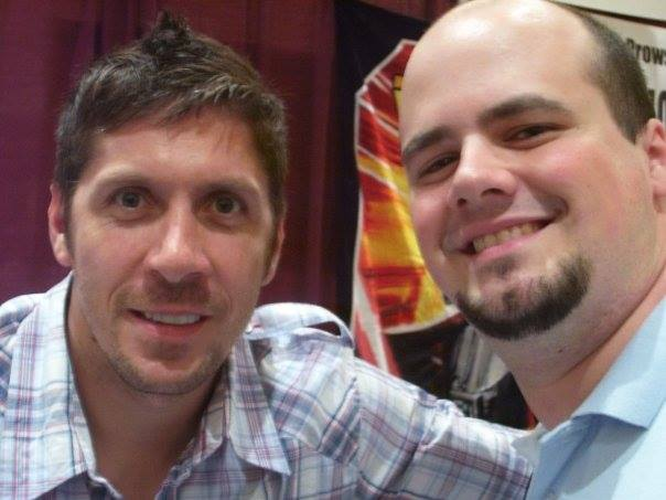 Ray Park and Austin Gordy
