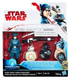 Star-Wars-Force-Link-Figure-Pack-Rose-First-Order-Disguise-BB-8-BB-9E-packaged