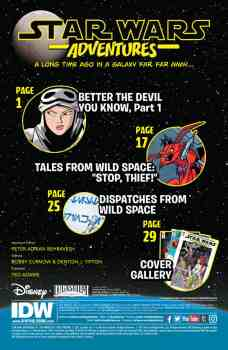 Star Wars Adventures 1 Preview page 1