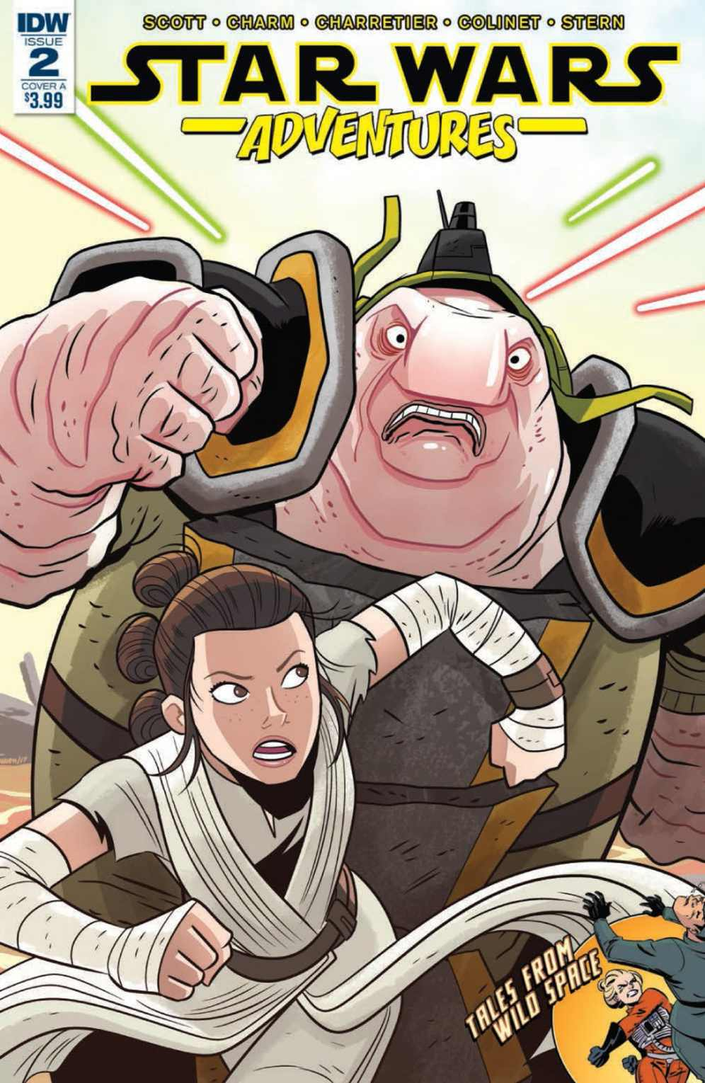 Star Wars Adventures 2 Cover