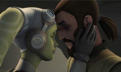 Hera and Kanan from Star Wars Rebels Season 4