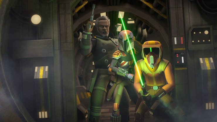 Star Wars Rebels - In the Name of the Rebellion