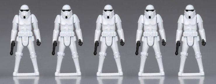 Darth Vader TIE Advanced Star Wars Transformers Stormtroopers