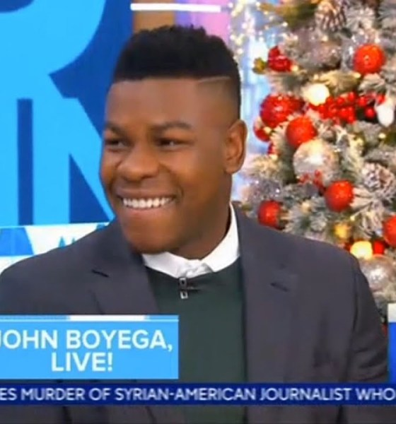John Boyega on Good Morning America