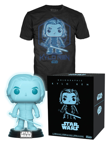 Target Exclusive Holographic Kylo Ren Funko POP