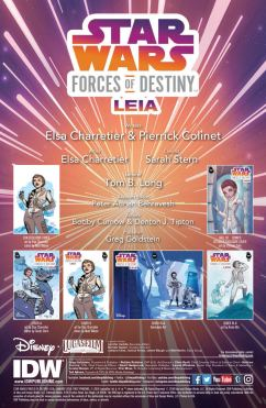 Star Wars: Forces of Destiny - Leia - page 1