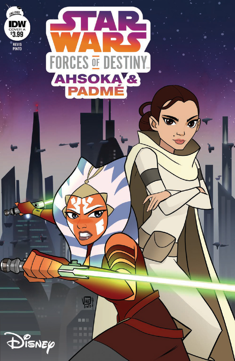 Star Wars Adventures: Forces of Destiny—Ahsoka & Padme