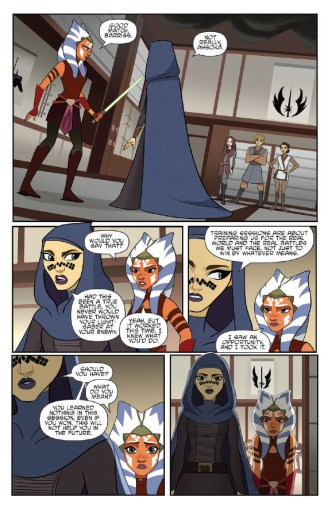 Star Wars Adventures: Forces of Destiny—Ahsoka & Padme page 3