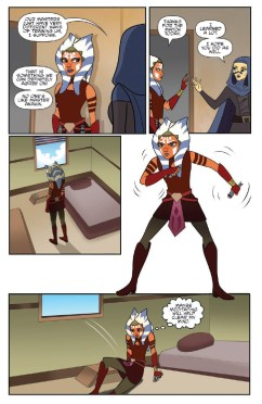 Star Wars Adventures: Forces of Destiny—Ahsoka & Padme page 5