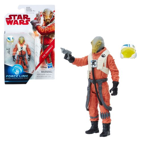 Star Wars: The Last Jedi C'ai Threnalli 3 3/4-Inch Action Figure