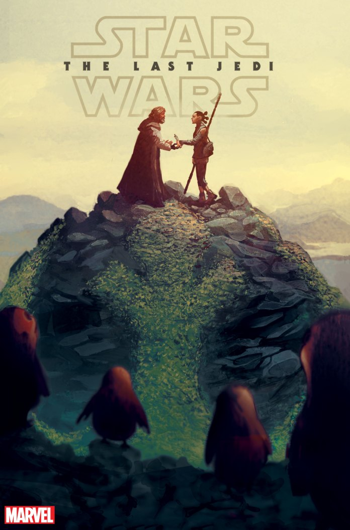 Star Wars: The Last Jedi Adaptation Cover