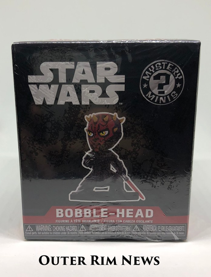 Mystery Minis Darth Maul Box front