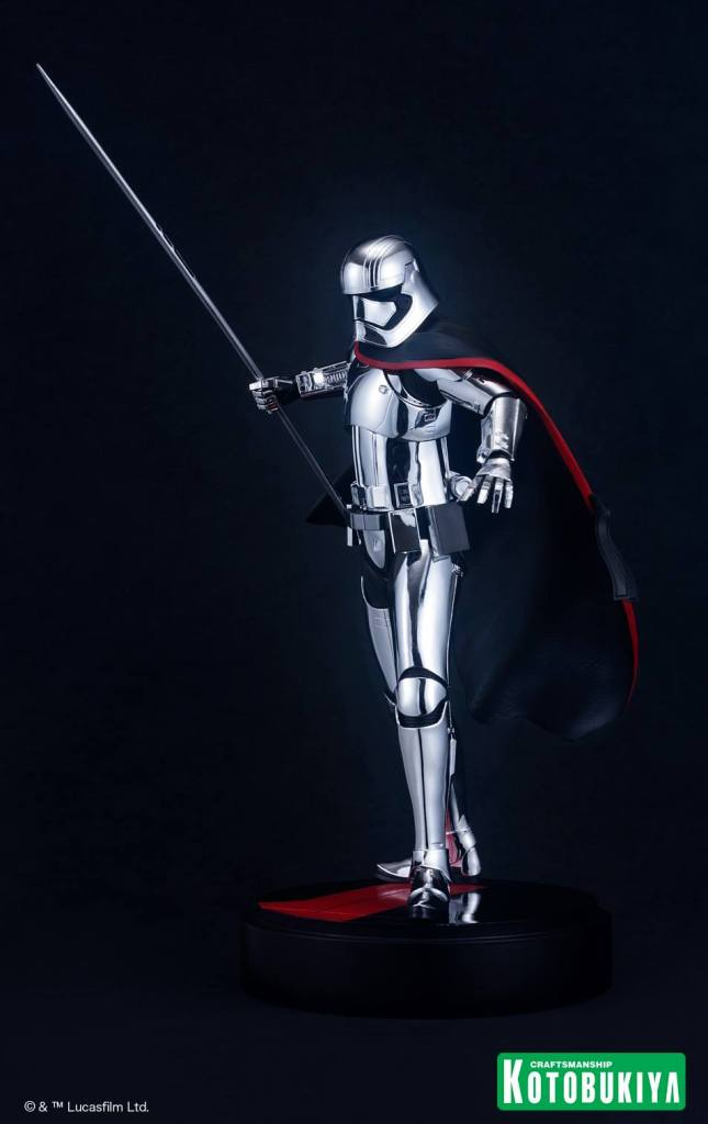 Star Wars The Last Jedi Captain Phasma ARTFX statue