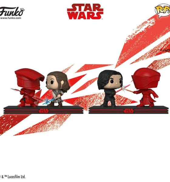 Funko Star Wars: The Last Jedi Wave 2 Pop Vinyl Figures