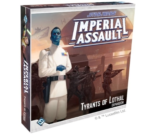 Imperial Assault - The Tyrants of Lothal Expansion Pack