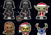 Pop! Star Wars Holiday vinyl figures