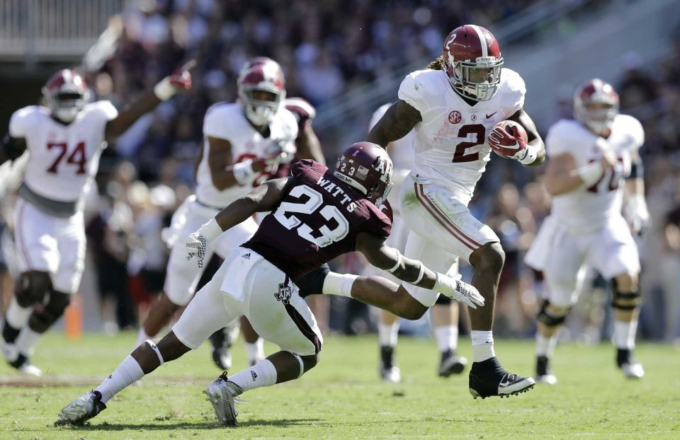 Alabama is hitting its stride at the right time. (Photo: Eric Gay/AP)