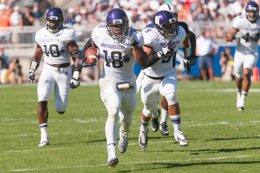 LB Anthony Walker (Photo: Nathan Richards/Daily Northwestern)