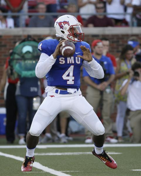 SMU QB Matt Davis (Photo: AP/LM Otero)