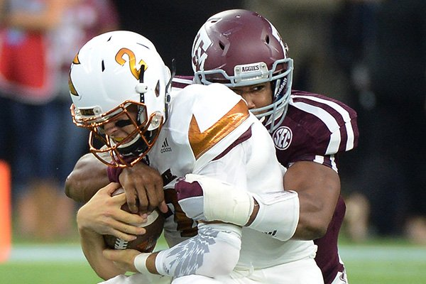 Myles Garrett has 9.5 TFL/sacks in just 5 games this year. (Photo: George Bridges/AP Photo)