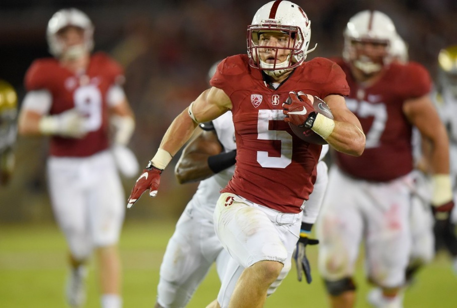 Stanford RB Christian McCaffrey is a Heisman contender. (Photo: Thearon W. Henderson/Getty Images)