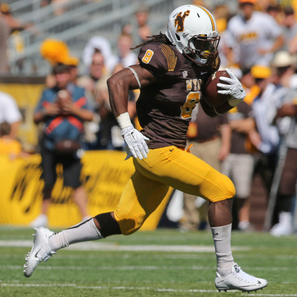 Wyoming may not be any good, but RB Brian Hill is. Through 9 games, he has 1262 rushing yards. (<a rel=