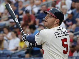 Freddie Freeman regression mean Atlanta Braves