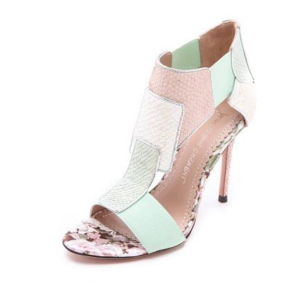 Jean-Michel Cazabat - Octavia T Strap Sandals Price $265.00
