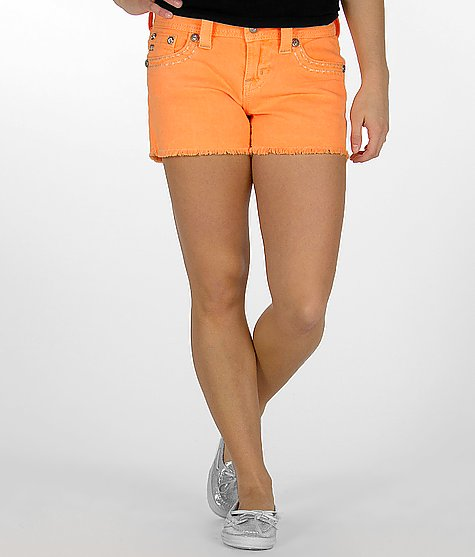 Miss Me Frayed Stretch Short $84.00