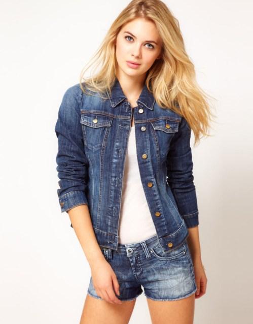 Miss Sixty Corinna Denim Jacket from ASOS.  Price €93.49