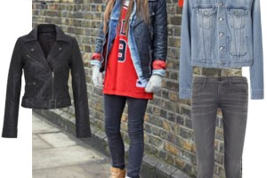 Street Chic Outfit Idea –  London