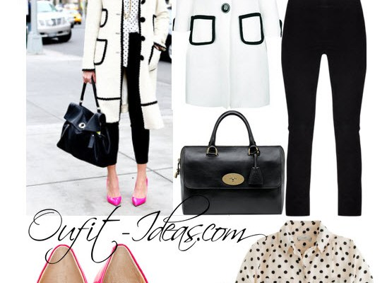 Black and White Outfits – From winter to spring