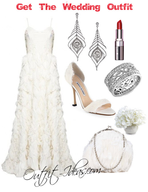 The Feather Bride in the perfect Outfit