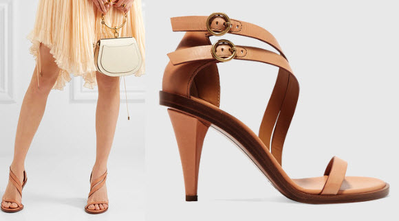 Chloe Niko leather sandals