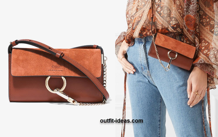 Chloe s updated Faye shoulder bag doubles as a wallet