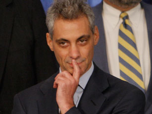 Colleagues coined a phrase during the Clinton years to fit Emanuel's ability to mangle the English language. AP