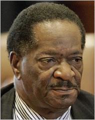 State Senator Emil Jones Jr., a mentor of Mr. Obama