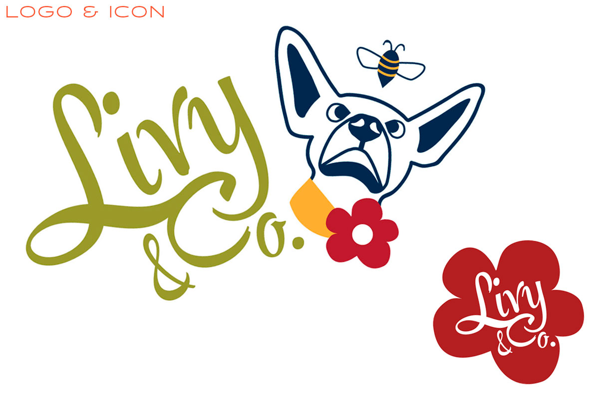 Livy And Company Branding - Logo and Icon