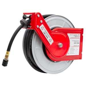Enrouleur tuyau d'air comprime 15m LSR15HQ pneumatique